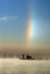 Sun Dog and Lighthouse Duluth MN Stensaas (1)