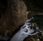 Brink of Lower Yellowstone Falls Yellowstone N.P. WY IMG_0067608copy