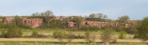 Quartzite cliffs of Blue Mounds State Park Rock Co MN IMG_0214