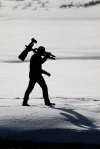 Ryan Marshik silhouette Nikon 600mm tripod Hayden Valley Yellowstone National Park WYIMG_8119
