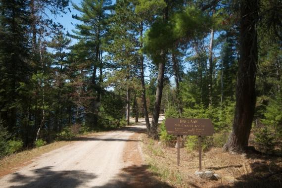 boat landing Big Lake Superior National Forest Lake Co MN IMG_8003