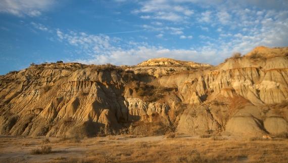 Badlands landscape North Unit Teddy Roosevelt National Park ND IMG_6354