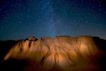 Night Sky Hoodoos Teddy Roosevelt National Park NDIMG_5957
