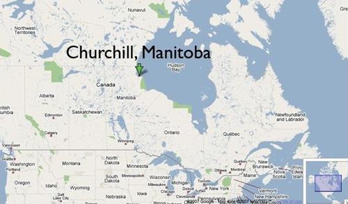 Churchill Manitoba on Hudson Bay Cape Merry Merriment The