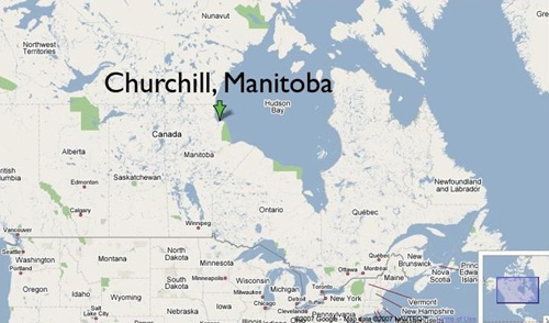 Churchill Manitoba on Hudson Bay: Cape Merry Merriment